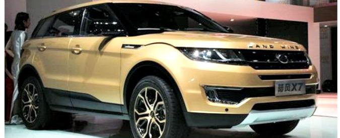 Evoque copiata in Cina, Land Rover pronta a rivolgersi alle autorità