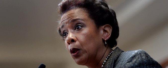 Usa, Obama nomina Loretta Lynch: è la prima donna nera ministro della Giustizia