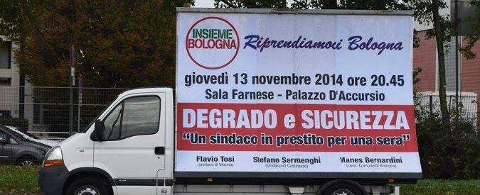 Lega Nord, sindaco renziano al tavolo con Tosi a Bologna per parlare di sicurezza