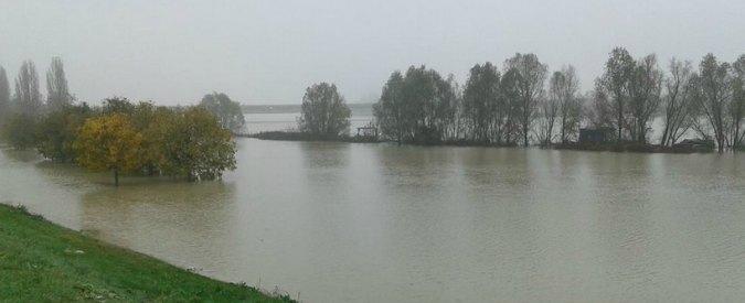 Piena del fiume Po: criticità elevata tra Casalmaggiore e l'Adriatico