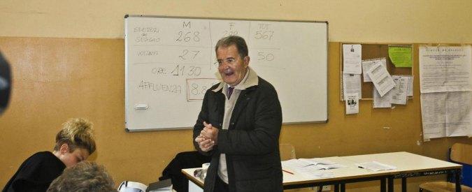 """Regionali Emilia, Prodi: """"Come fai il letto, così dormi"""". Balzani: """"Lezione durissima"""""""