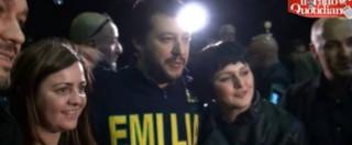 """Regionali Emilia, l'appello di Salvini: """"Noi speranza per chi è rassegnato"""""""
