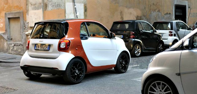 Smart fortwo 2014 posteriore