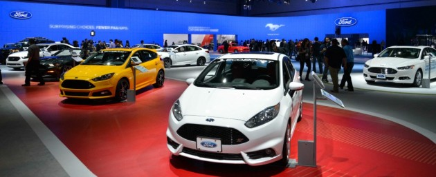 Stand Ford al Salone di Los Angeles 2014