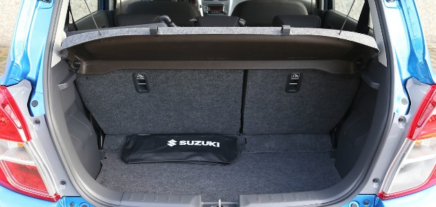 Suzuki Celerio bagagliaio