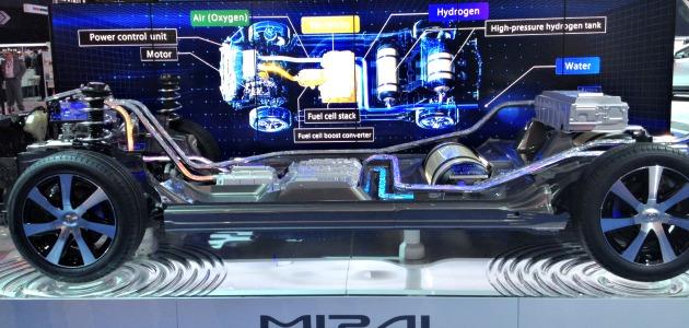 Toyota Mirai schema tecnico