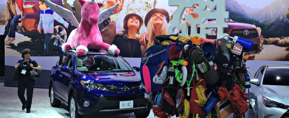 Toyota Rav4 al Salone di Los Angeles 2014