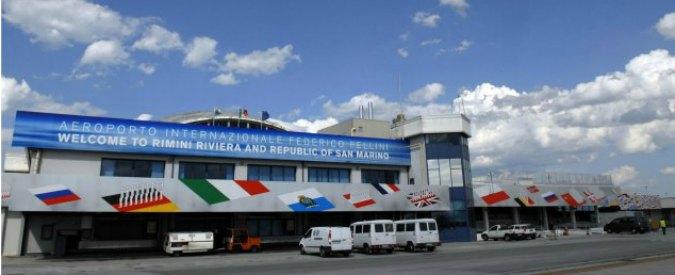 Aeroporto Rimini, cordata per salvare lo scalo. C'è anche il produttore Procacci