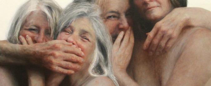 Aleah Chapin, in mostra a Londra l'artista che dipinge corpi non più giovani
