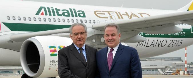 Alitalia – Etihad, perfezionato accordo: nuova compagnia operativa da gennaio