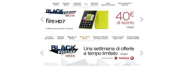 Black Friday 2014 in Italia: le offerte di Amazon ed eBay. Apple al momento tace