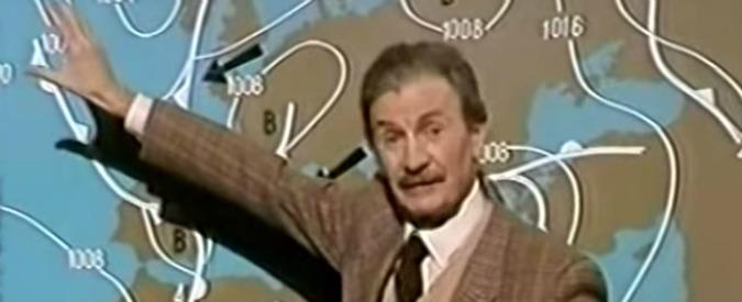 """Andrea Baroni morto, il volto storico di """"Che Tempo fa"""" aveva 97 anni"""