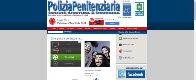 """Anonymous viola siti di polizia e sindacati: """"Cucchi, sentenza abominevole"""""""