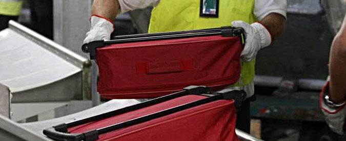 """Fiumicino, nuova protesta dei lavoratori di terra. Torna il """"caos bagagli"""""""