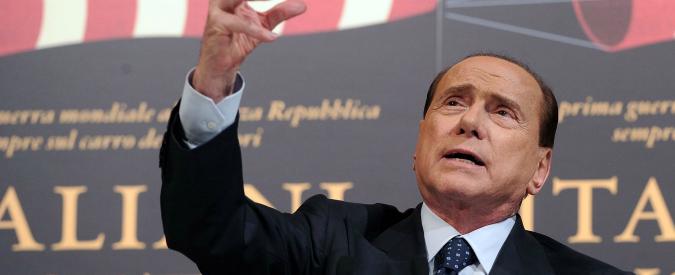 """Berlusconi: """"Torno in campo, non posso astenermi. Noi non siamo salviniani"""""""