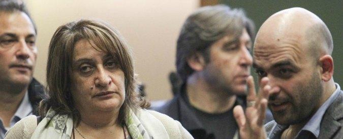 Capacchione contro Roberto Saviano dopo la sentenza: 'Non vedi borghesia mafiosa'