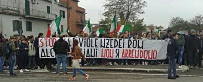"""Roma, """"CasaPound impedisce a bambini rom l'accesso a scuola"""""""