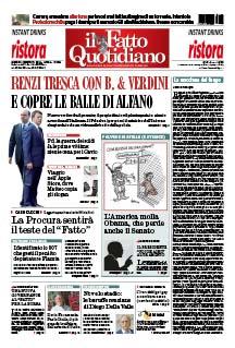Renzi tresca con B. & Verdini. E copre le balle di Alfano