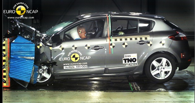 crash test Renault Megane