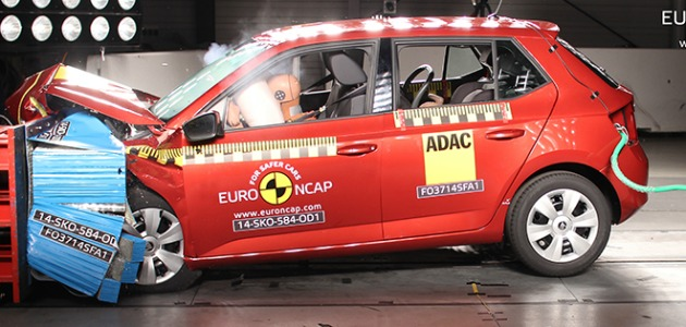 crash test Skoda Fabia
