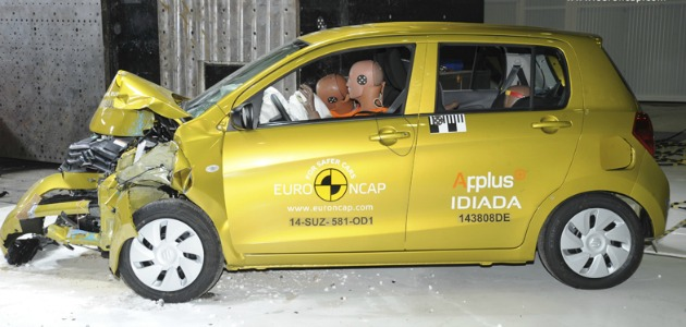 crash test Suzuki Celerio