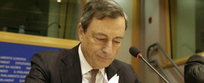 """Bce, Draghi: """"Eurozona, una ripresa più forte è improbabile"""""""