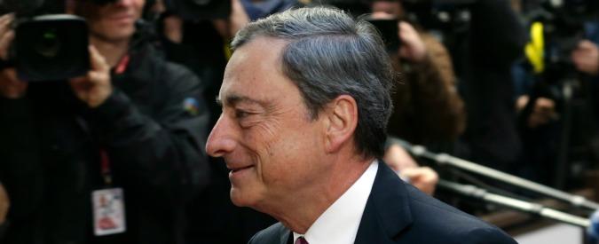 "Bce, Draghi: ""Unanimità su 1.000 miliardi di iniezione di liquidità"""