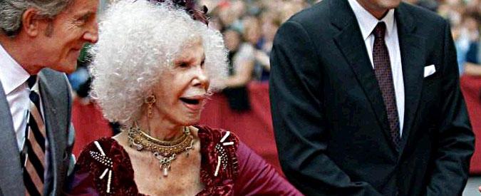 Duchessa di Alba morta a 88 anni: una vita tra stravaganze e matrimoni