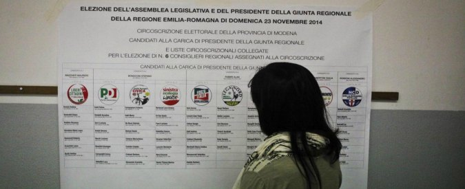Elezioni Emilia Romagna: chi entra e chi esce dall'Assemblea legislativa