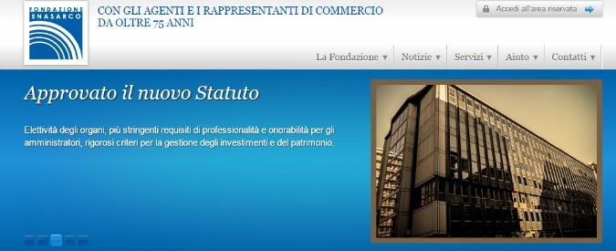 Enasarco, 'commissioni personali'. Accuse di tangenti in una registrazione