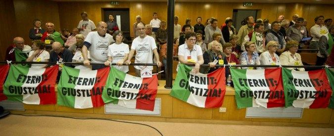 Processo Eternit, sulle 2000 vittime la falce della prescrizione all'italiana