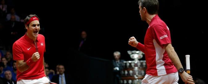 Coppa Davis 2014, la prima volta della Svizzera: e Federer entra nella storia