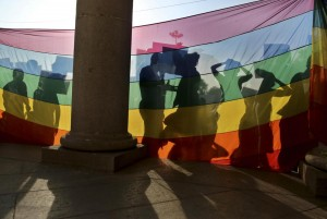 India, cortei di attivisti per i diritti dei gay