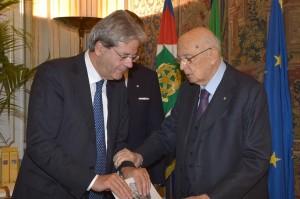 Quirinale, giuramento Paolo Gentiloni nuovo Ministro degli Affari Esteri