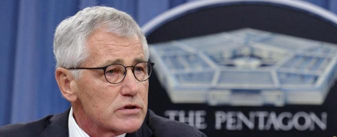 """Usa, si dimette il capo del Pentagono Hagel. """"Dissidi con Obama su lotta a Isis"""""""