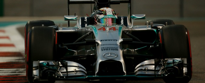 F1, Lewis Hamilton è campione del mondo: vince anche il Gp di Abu Dhabi