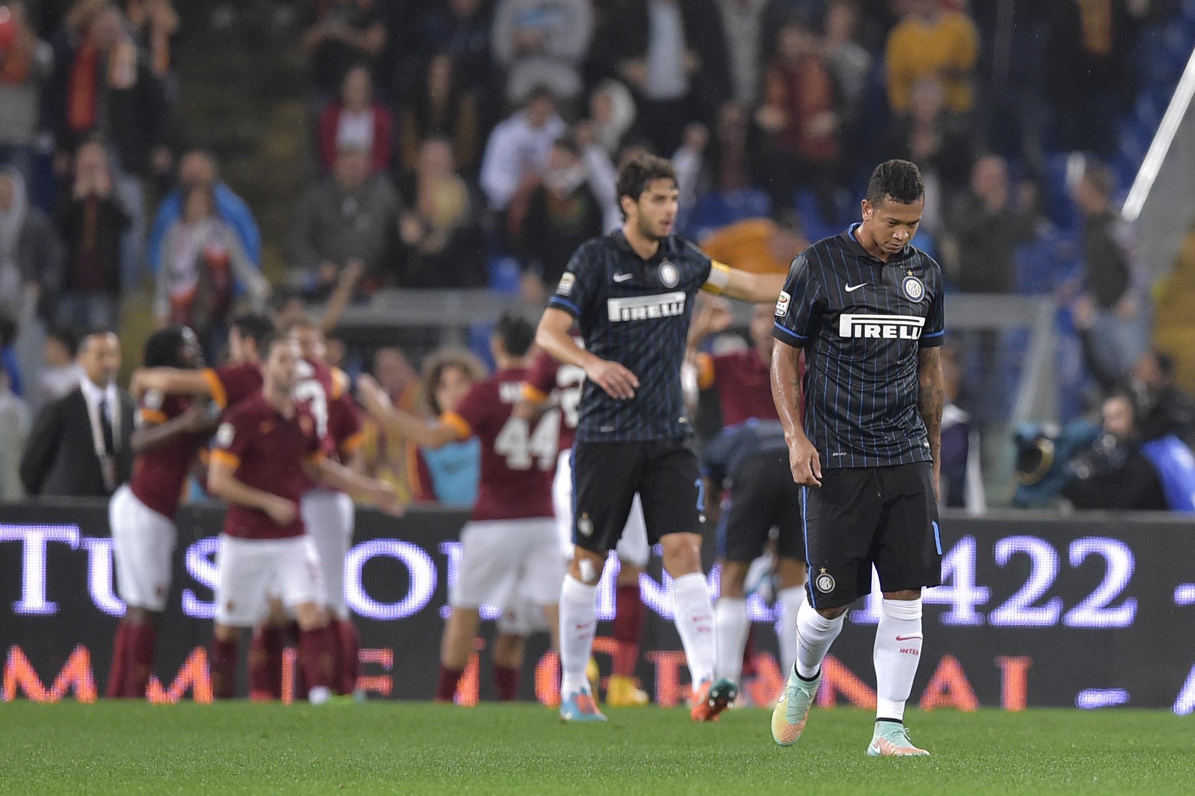Serie A, Roma superiore contro una buona Inter. Finisce 4-2