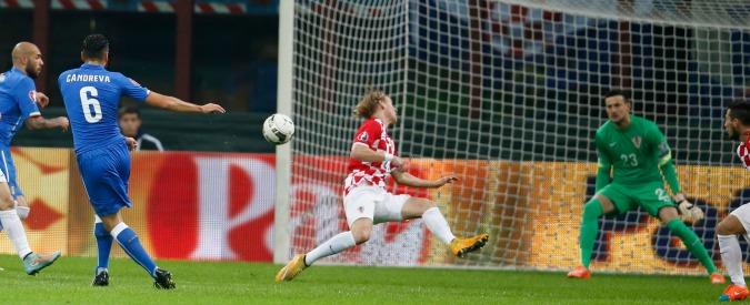 Italia – Croazia, finisce 1-1. Azzurri messi in difficoltà