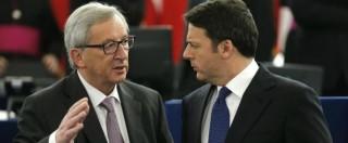 """Migranti, Ue smentisce Renzi su fondi per Turchia: """"Flessibilità c'è già, si sa da dicembre"""". E lui cambia versione"""