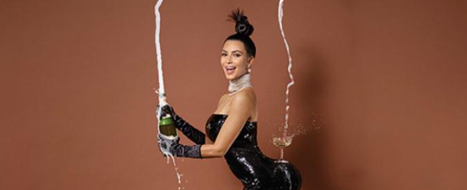 Kim Kardashian, l'icona curvy nuda sulla copertina di Paper. Boom di click