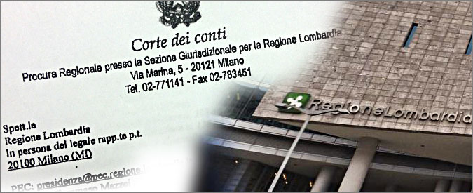 """Spese pazze Lombardia, corte Conti: """"Anche l'Ufficio di presidenza risarcisca"""""""