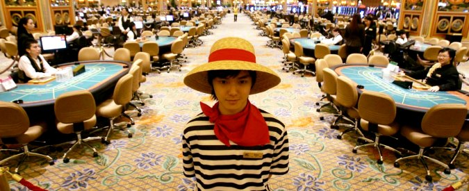"""Macao, crolla il gioco d'azzardo: """"colpa"""" della campagna anticorruzione"""