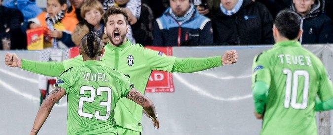 Malmoe – Juventus 0-2. Llorente e Tevez portano Allegri a un passo dagli ottavi