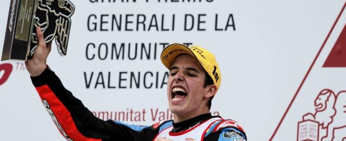 Moto Gp, a Valencia 13esimo successo di Marquez. Rossi chiude secondo