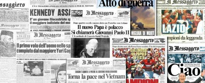 """""""Il Messaggero paghi 500mila euro a giornalista a titolo di equo compenso"""""""