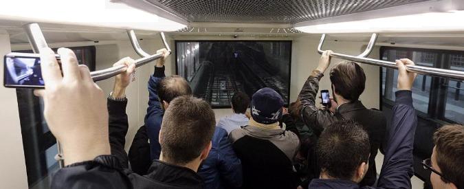 Metro C Roma, primo treno si ferma quattro stazioni prima del capolinea