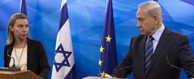 """Gaza, Mogherini in visita nella Striscia: """"Serve Stato palestinese indipendente"""""""