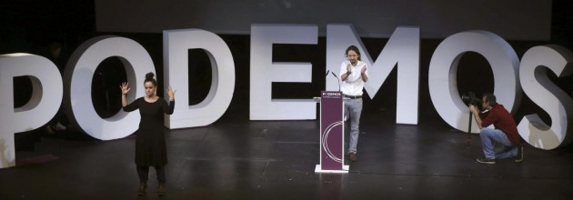 PABLO IGLESIAS, NEW SECRETARY GENERAL OF PODEMOS