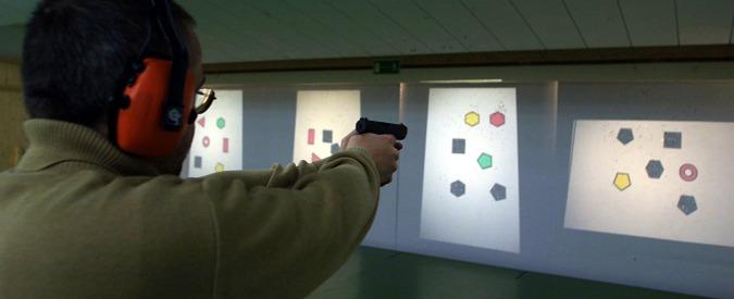Armi e munizioni civili, un'industria che dà lavoro a 95.000 persone