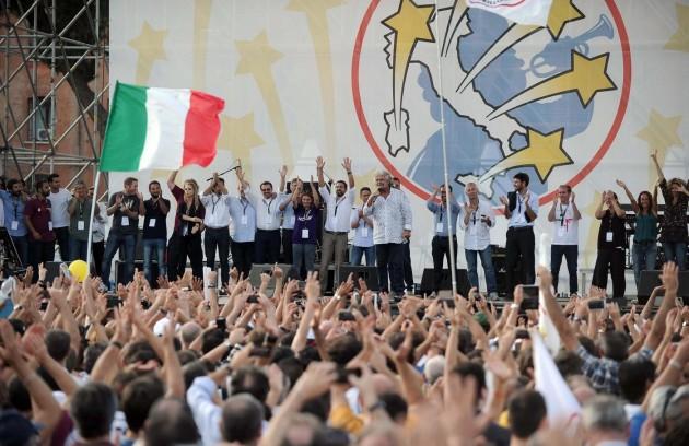 Italia5Stelle, ultimo giorno del M5S al Circo Massimo